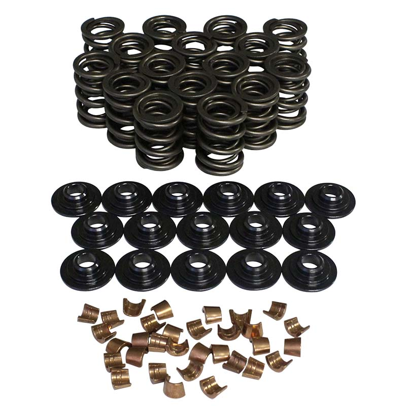 Performance Dual Valve Spring & Retainer Kit; 1.470 10 Degree Howards Cams 98445-K32 98445-K32