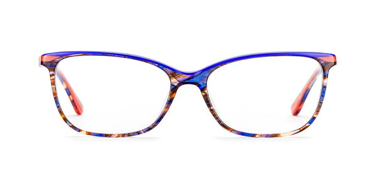 Etnia Barcelona TAYRONA COBL Women's Glasses Blue Size 54 - Free Lenses - HSA/FSA Insurance - Blue Light Block Available