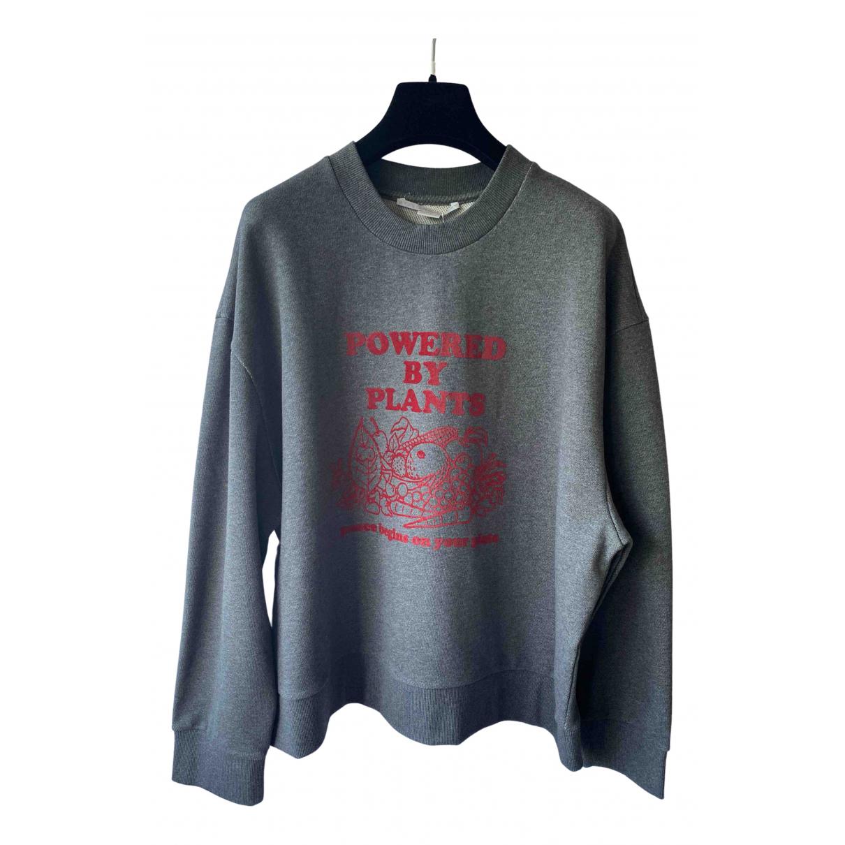 Stella Mccartney - Pull   pour femme en coton - gris