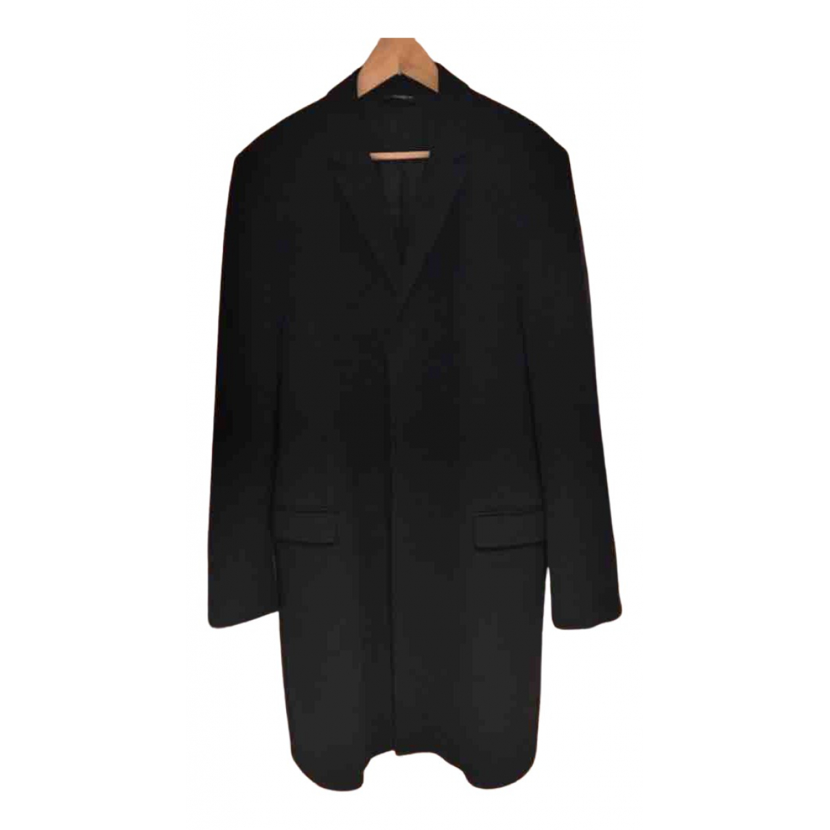 Dolce & Gabbana N Black Wool coat  for Men 52 IT