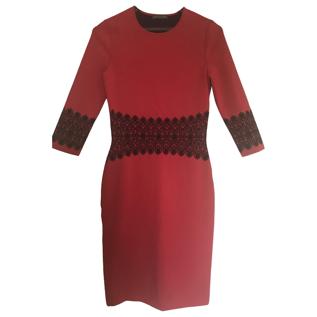 Alexander Mcqueen \N Red dress for Women 10 UK