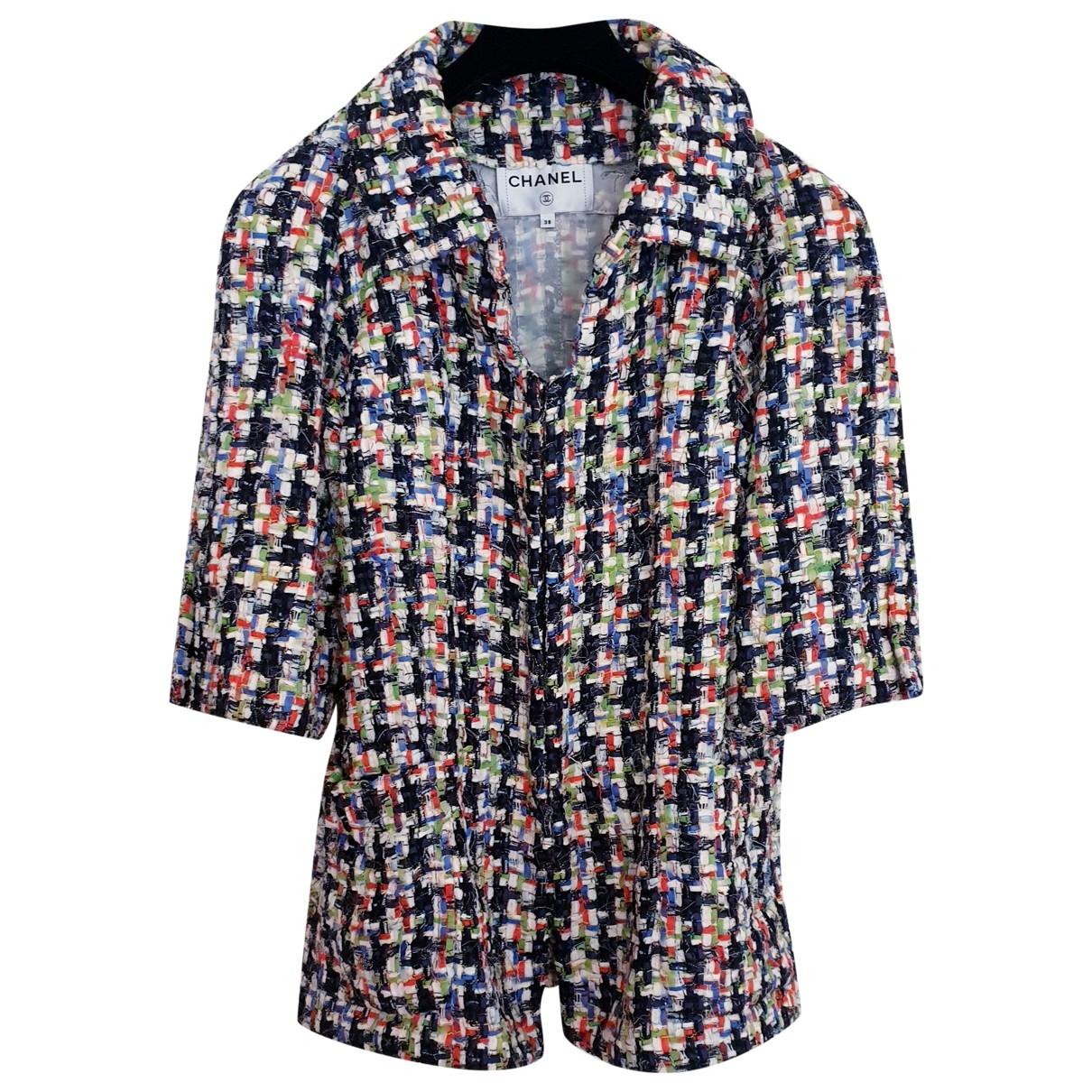 Chanel \N Multicolour Tweed jacket for Women 38 FR