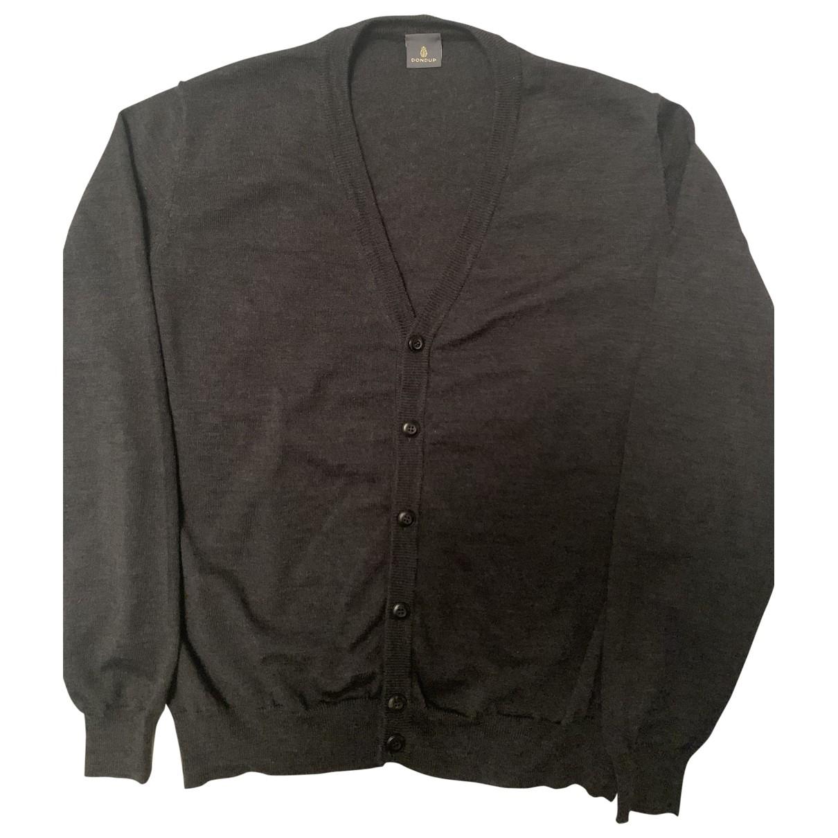 Dondup \N Pullover.Westen.Sweatshirts  in  Anthrazit Wolle