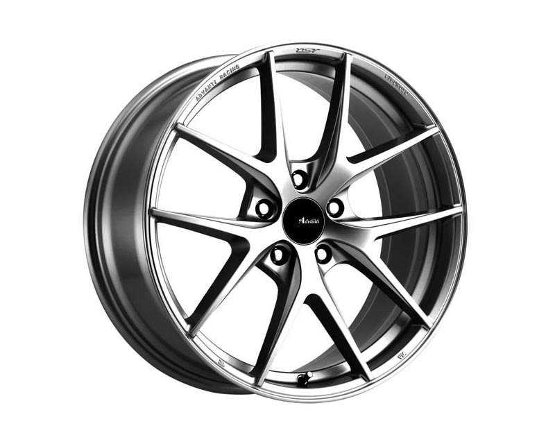 Advanti Racing Vigoroso Wheel 19x9.5 5x114.3 45 SLGLXX Flash Silver
