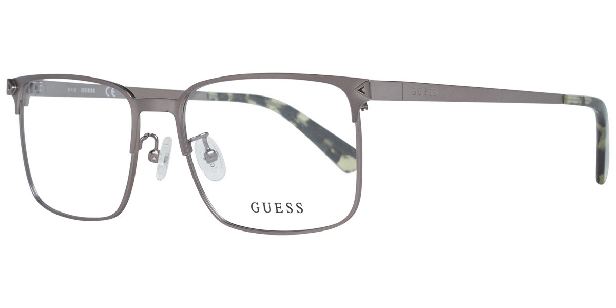 Guess GU 1965F Asian Fit 009 Mens Glasses Grey Size 55 - Free Lenses - HSA/FSA Insurance - Blue Light Block Available
