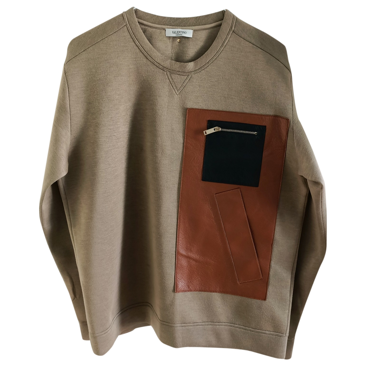 Valentino Garavani - Pulls.Gilets.Sweats   pour homme - beige