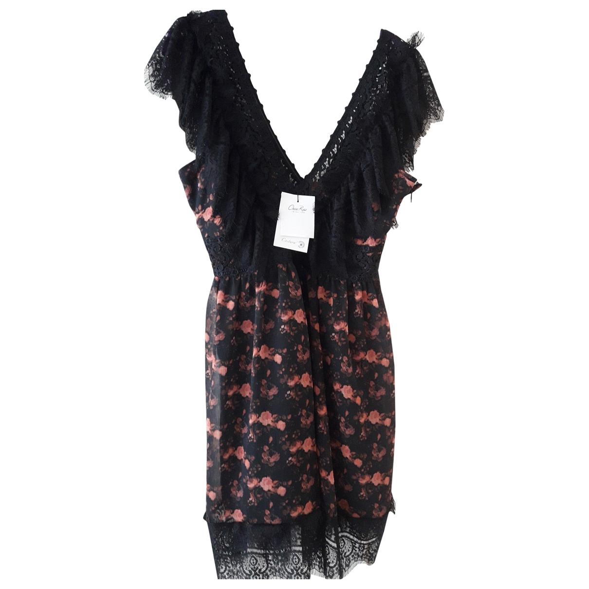 Charo Ruiz \N Kleid in  Schwarz Polyester