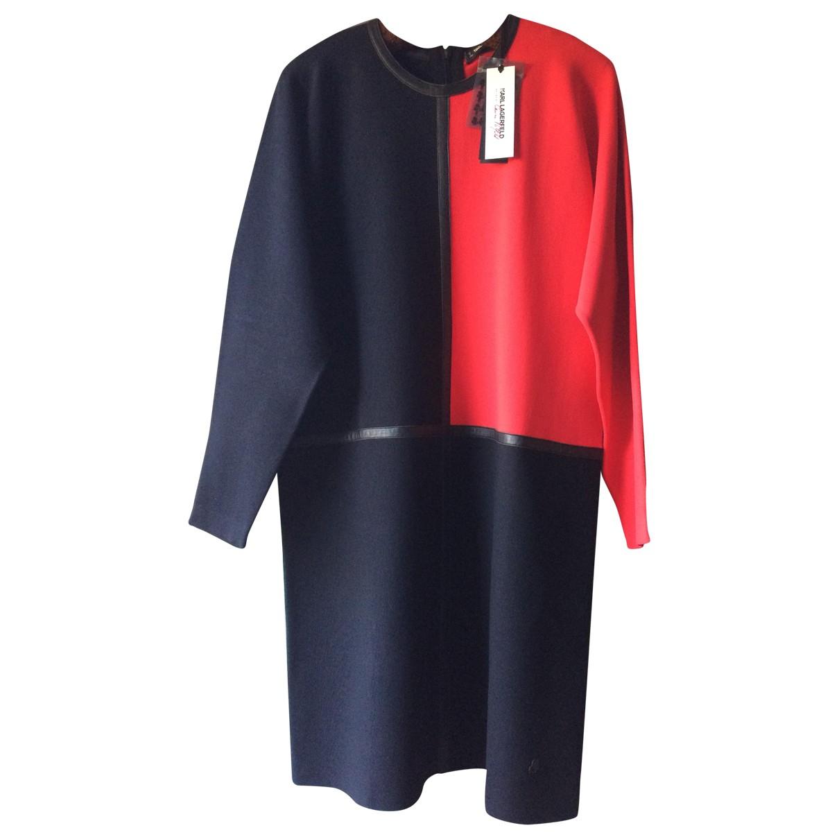 Karl Lagerfeld \N Kleid in  Bunt Viskose