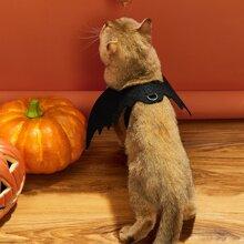 Kostuem mit Halloween Fledermausfluegel fuer Hunde