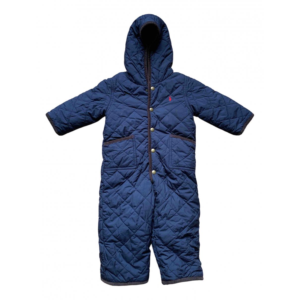 Polo Ralph Lauren - Blousons.Manteaux   pour enfant - bleu
