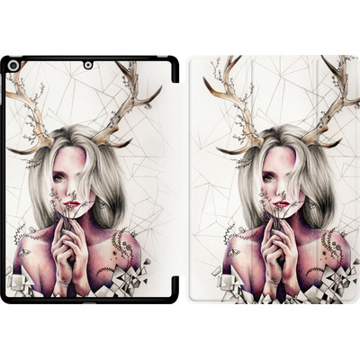 Apple iPad 9.7 (2018) Tablet Smart Case - The Antlers von Kate Powell