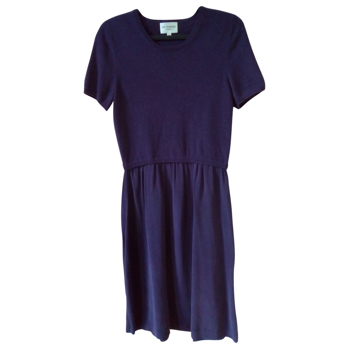 Eric Bompard \N Kleid in  Lila Kaschmir