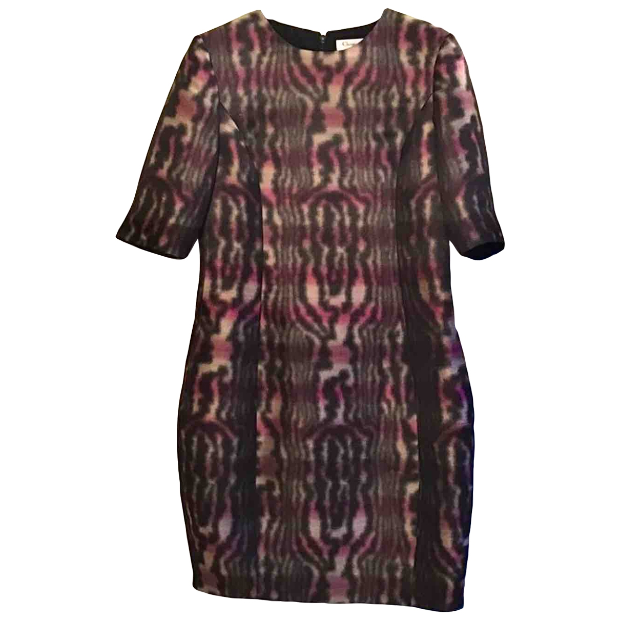 Dior - Robe   pour femme en soie - multicolore