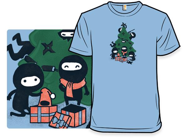 A Very Ninja Christmas T Shirt
