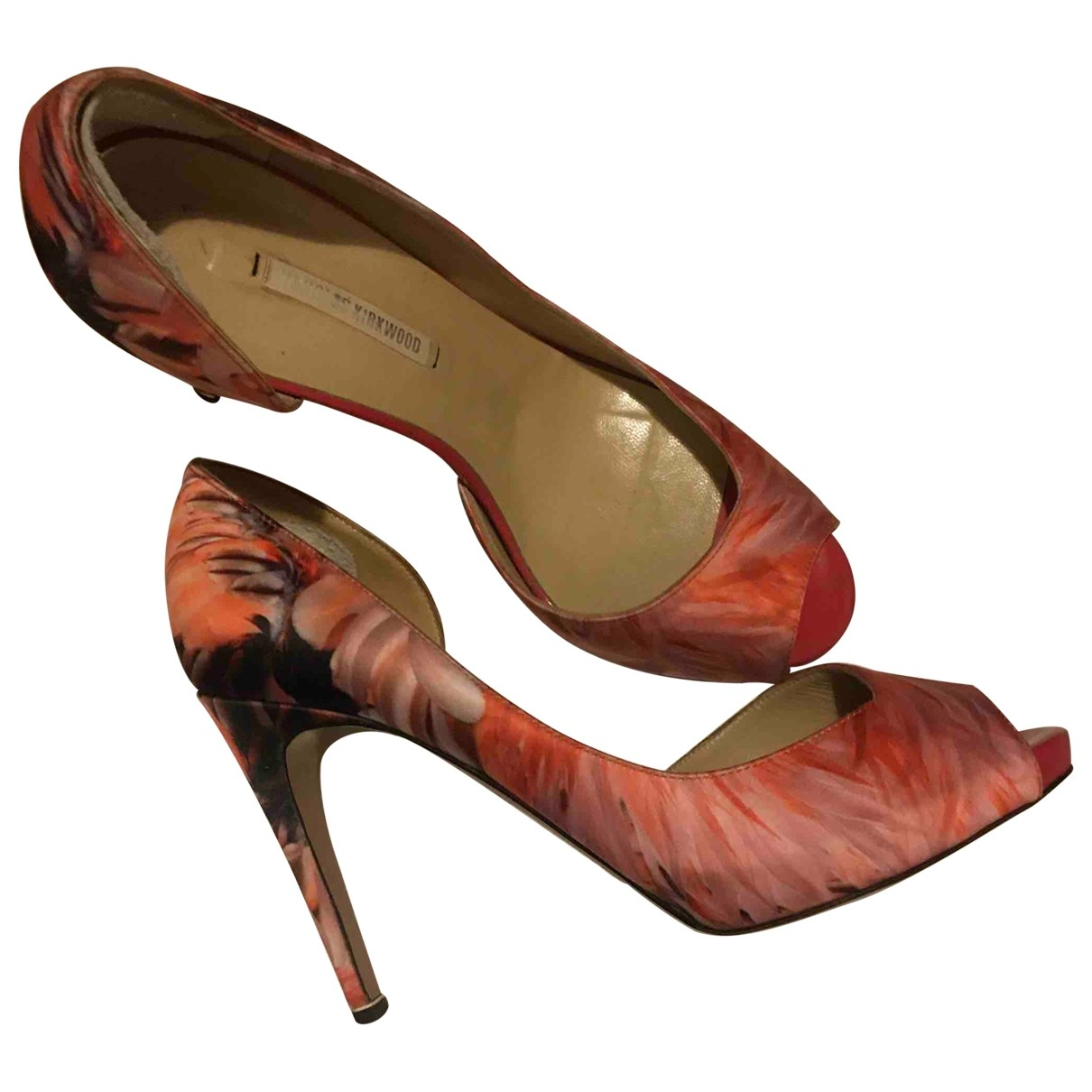 Nicholas Kirkwood \N Multicolour Cloth Heels for Women 38 EU