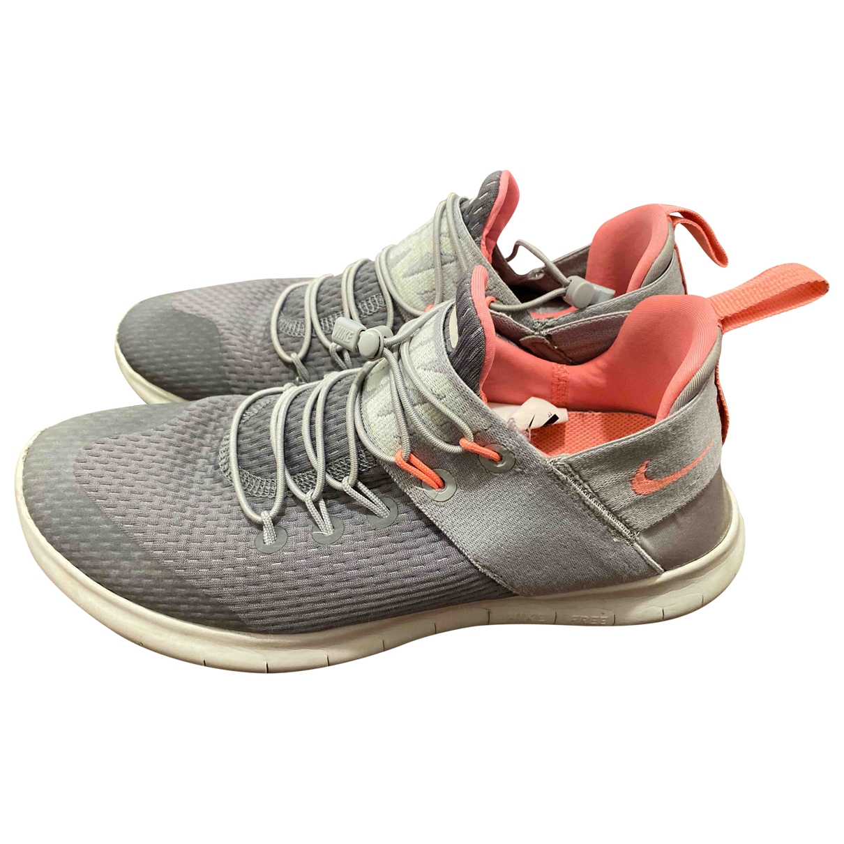 Nike - Baskets Free Run pour femme - gris