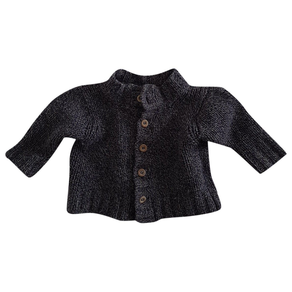 Babe & Tess \N Blue Wool Knitwear for Kids 9 months - up to 71cm FR