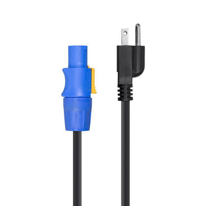 Stage Right Series 16AWG NEMA 5-15P to powerCON Connector - Monoprice® - 6ft