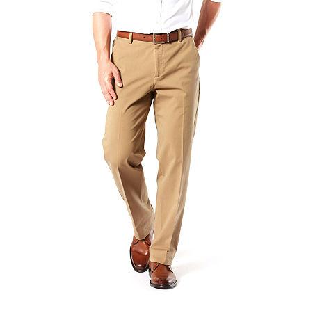 Dockers Big & Tall Classic Fit Workday Khaki Smart 360 Flex Pants D3, 36 38, Beige
