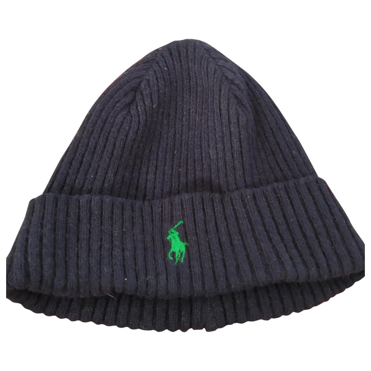 Polo Ralph Lauren \N Hut, Muetzen, Handschuhe in  Blau Wolle