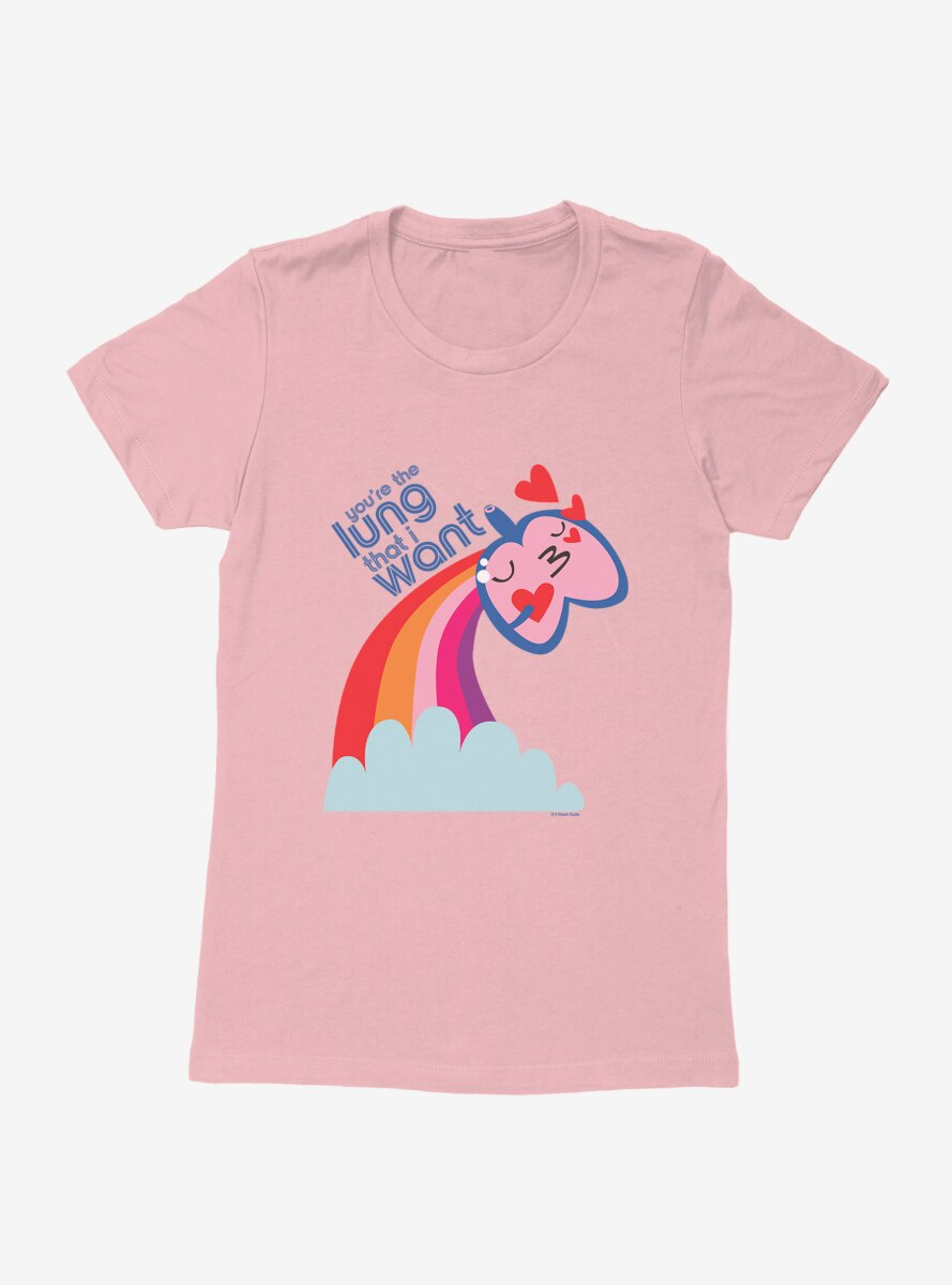 BL Creators: I Heart Guts You're The Lung That I Want Womens T-Shirt