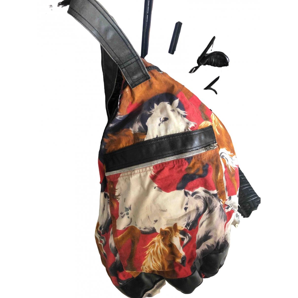 Kenzo - Sac de voyage   pour femme en coton - rouge