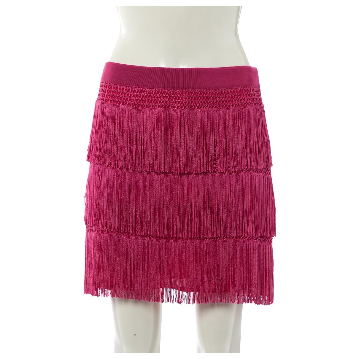 Mini falda de Seda Alberta Ferretti