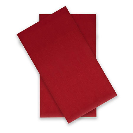 Home Expressions Microfiber Plus Ultra Soft Easy Care Wrinkle Resistant Standard/Queen 2-Pack Pillowcases, One Size , Red