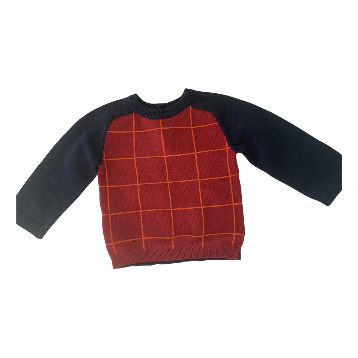 Jacadi \N Pullover, StrickJacke in  Rot Baumwolle
