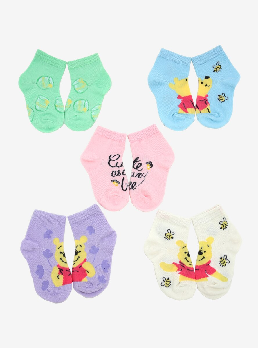 Disney Winnie the Pooh Toddler Sock Set - BoxLunch Exclusive