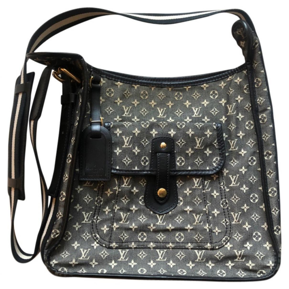 Louis Vuitton - Sac a main   pour femme en toile - gris