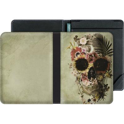 tolino vision 4 HD eBook Reader Huelle - Garden Skull Light von Ali Gulec