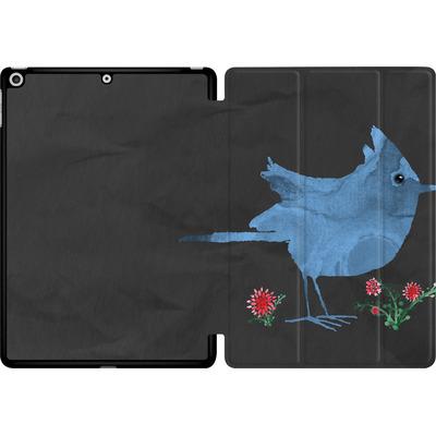 Apple iPad 9.7 (2018) Tablet Smart Case - Watercolour Bird Black von caseable Designs