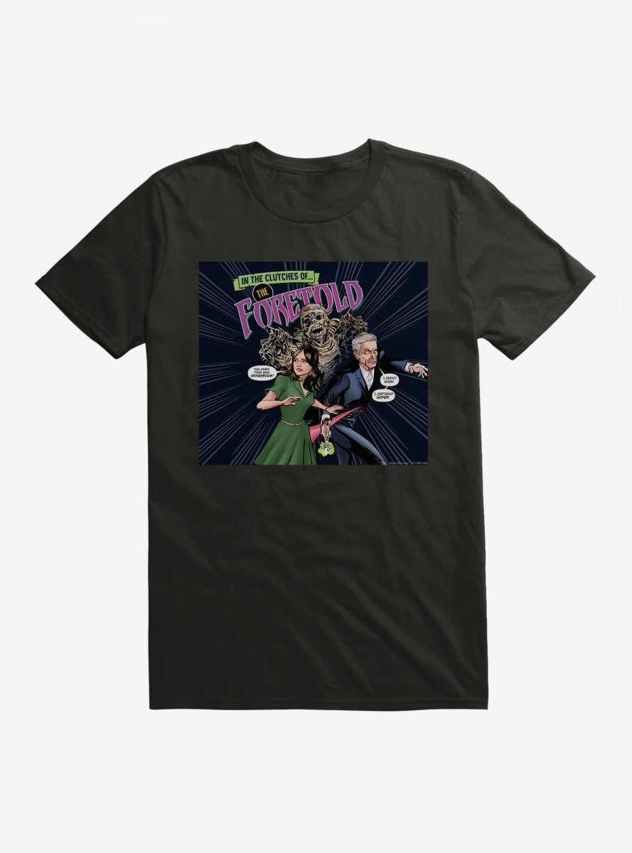 Doctor Who Twelfth Doctor And Clara Foretold T-Shirt