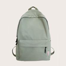 Rucksack mit Taschen vorn