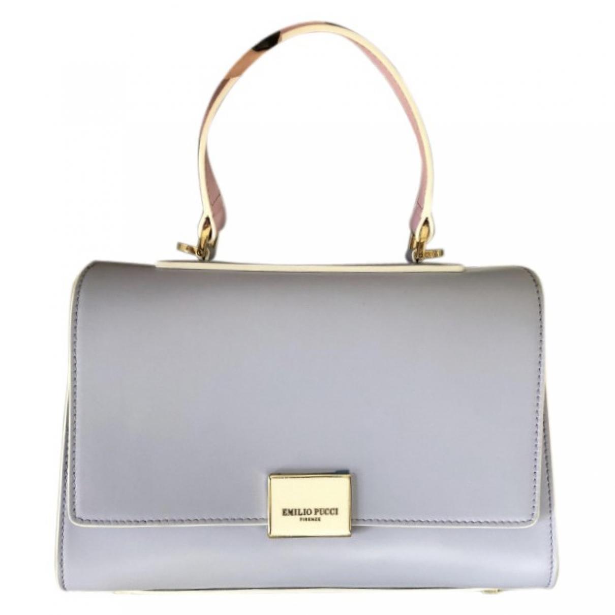 Emilio Pucci \N Handtasche in Leder
