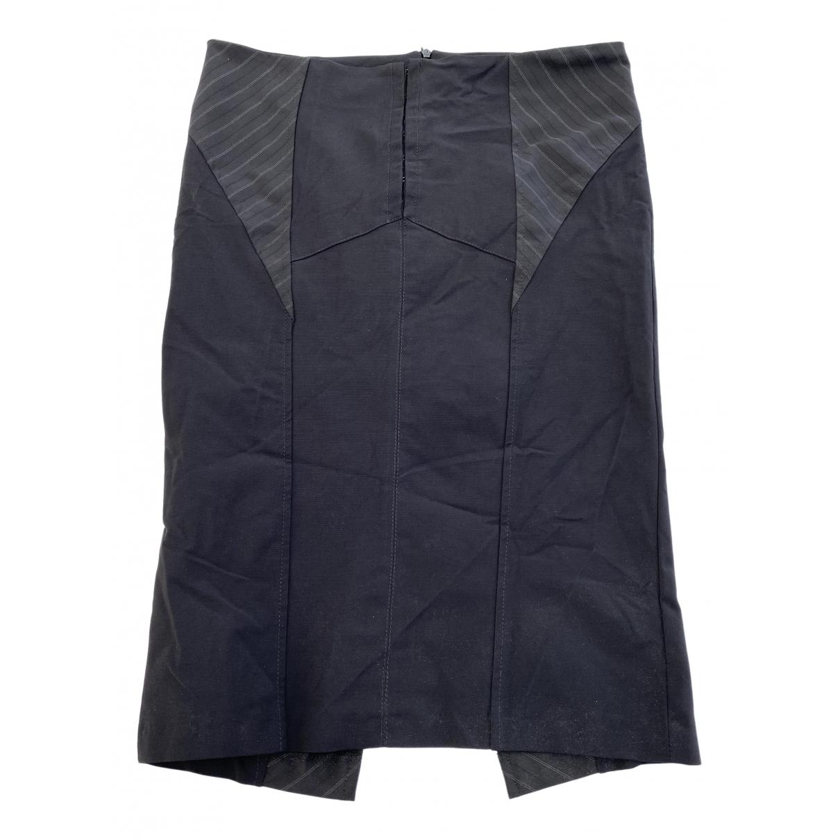 Elisabetta Franchi \N Black skirt for Women 44 IT
