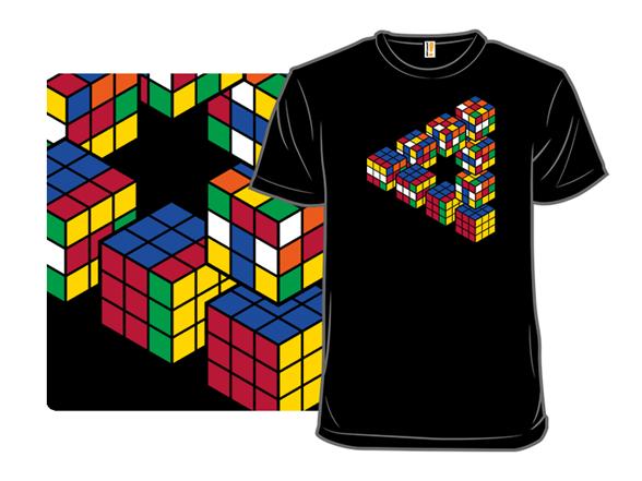Rubiks Triangle T Shirt