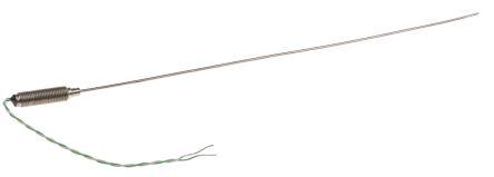 RS PRO Type K Thermocouple 250mm Length, 1.5mm Diameter → +1100°C
