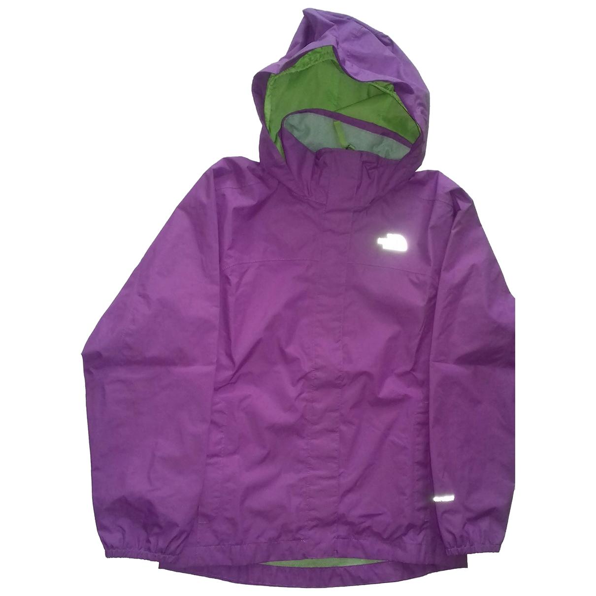 The North Face - Blousons.Manteaux   pour enfant - violet