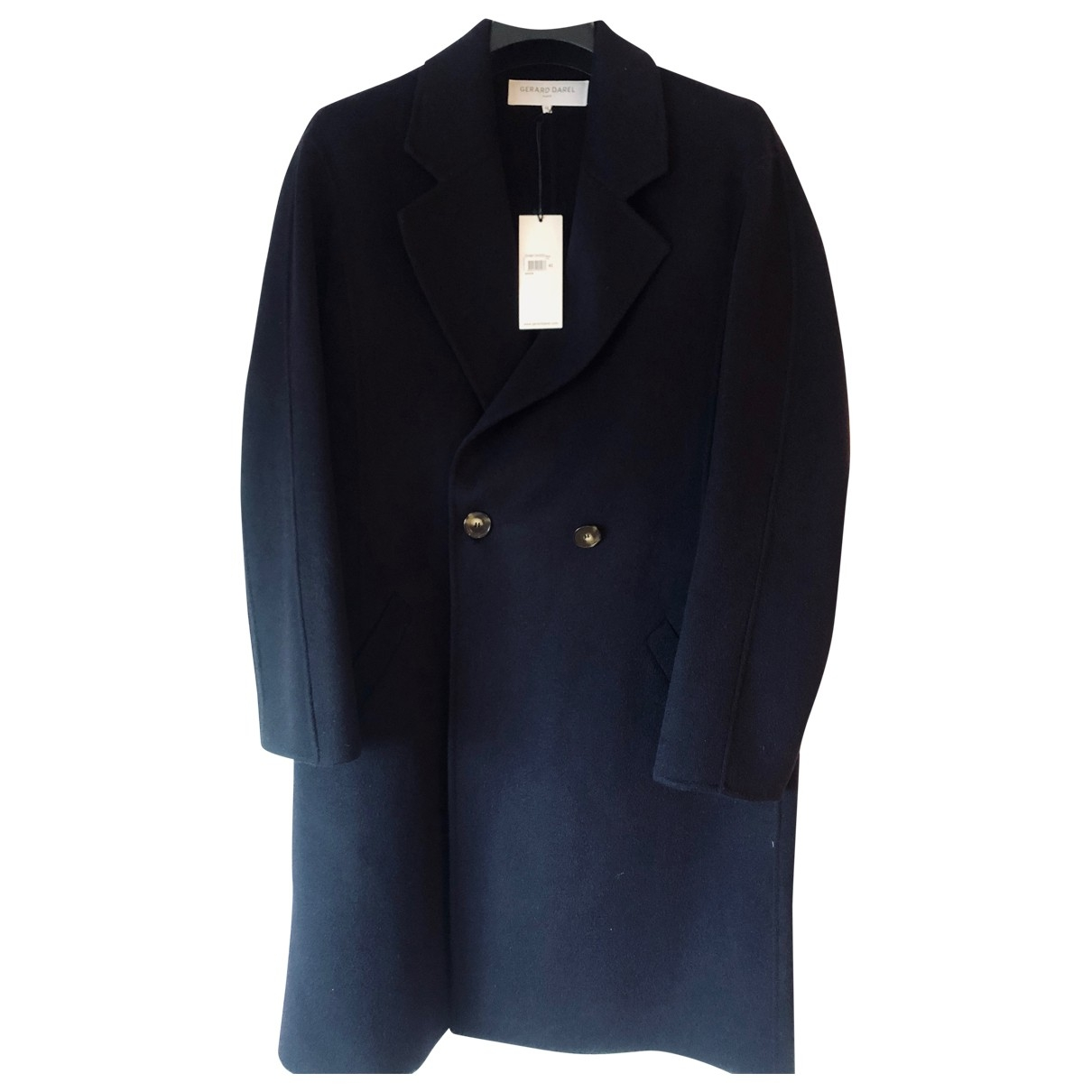 Gerard Darel \N Blue Wool coat for Women 40 FR