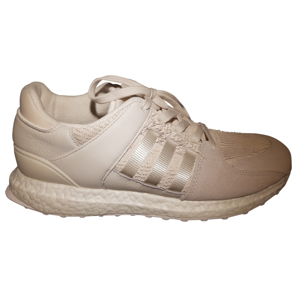 Adidas \N White Leather Trainers for Men 9 UK