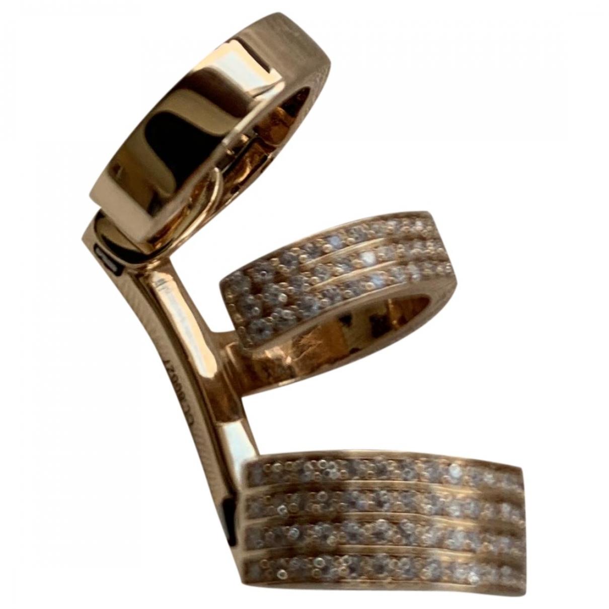 Repossi - Boucles doreilles Berbere pour femme en or rose - dore