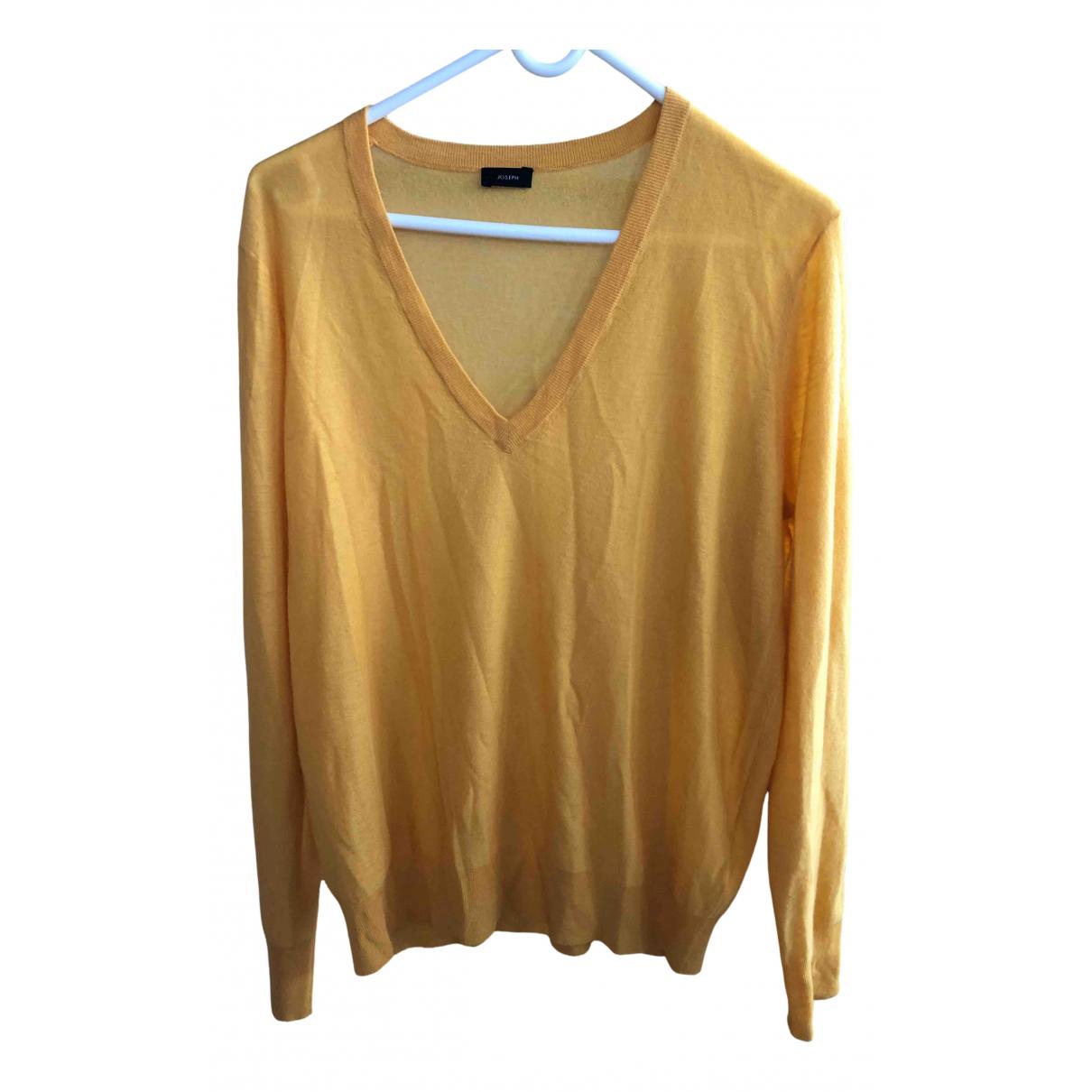 Joseph \N Pullover in  Gelb Kaschmir