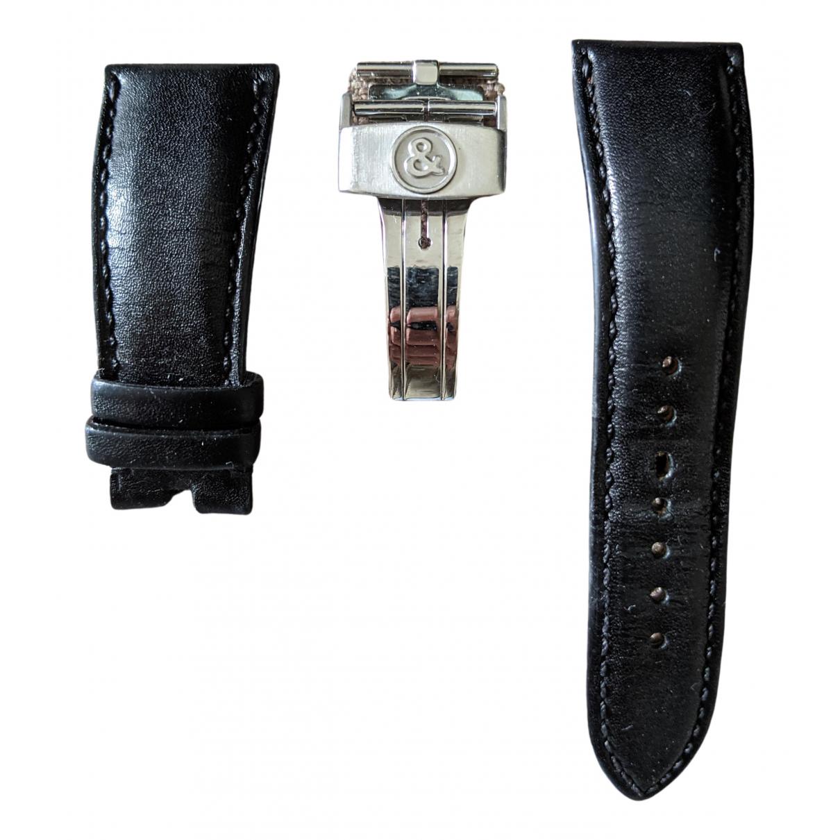 Bell & Ross \N Uhr in  Schwarz Leder