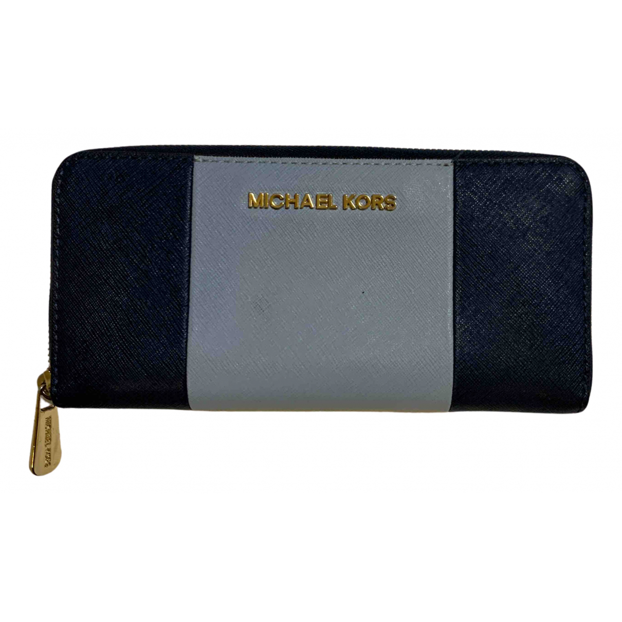 Michael Kors - Portefeuille   pour femme en autre - bleu