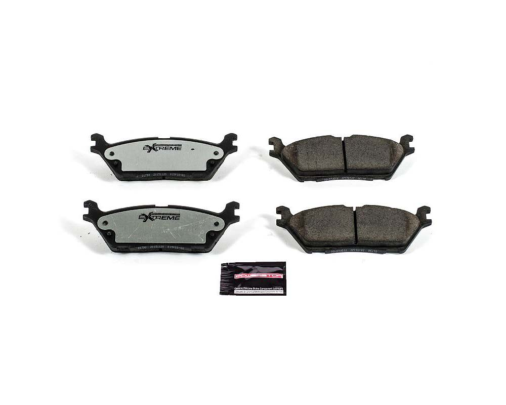 Power Stop Z36-1790 Z36 Truck & Tow Brake Pads w/Hardware Rear Ford Expedition 2018-2019