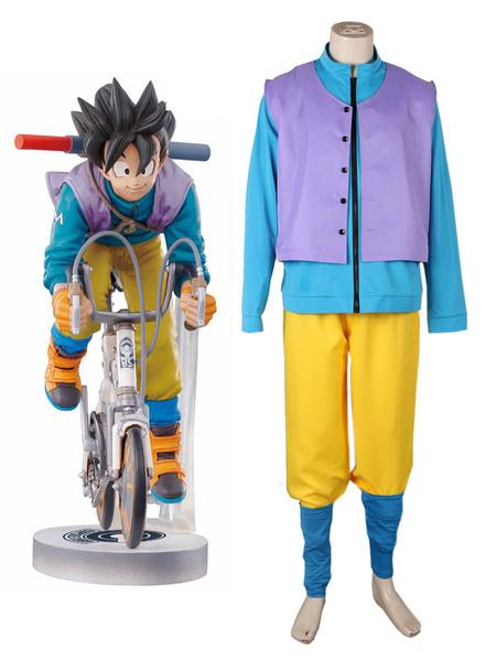 Milanoo Dragon Ball Cosplay Son Goku Halloween