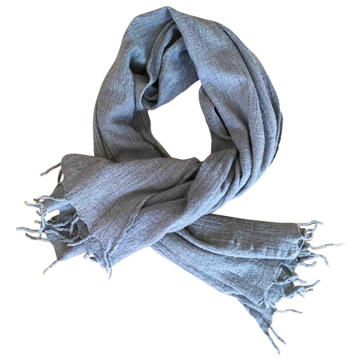 - Foulard   pour femme en laine - anthracite