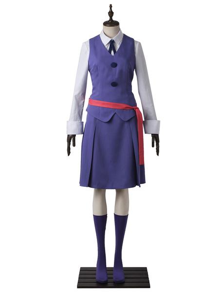Milanoo Little Witch Academia Atsuko Akko Kagari Halloween Cosplay Costume